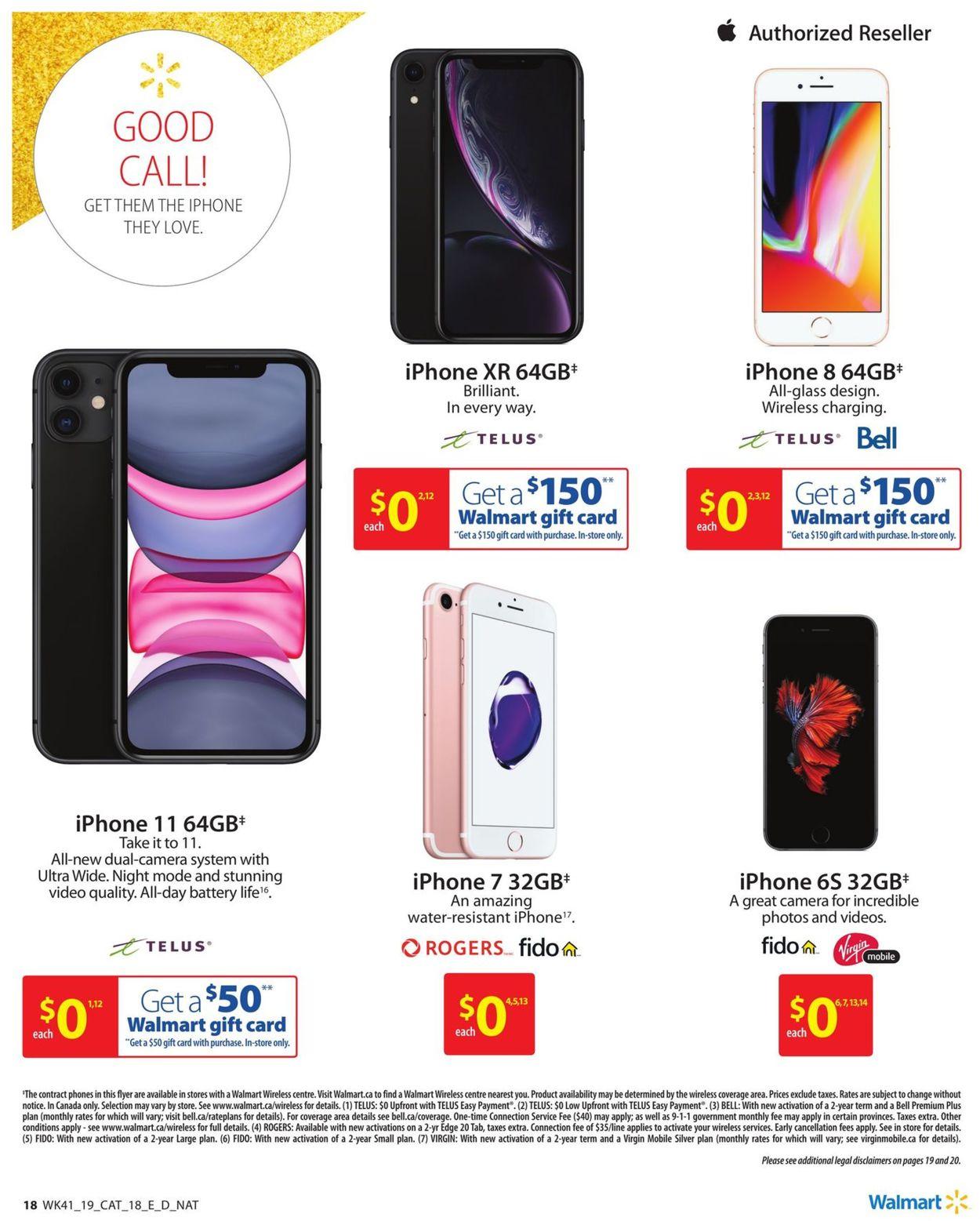 Walmart Flyer - 10/31-11/27/2019 (Page 18)