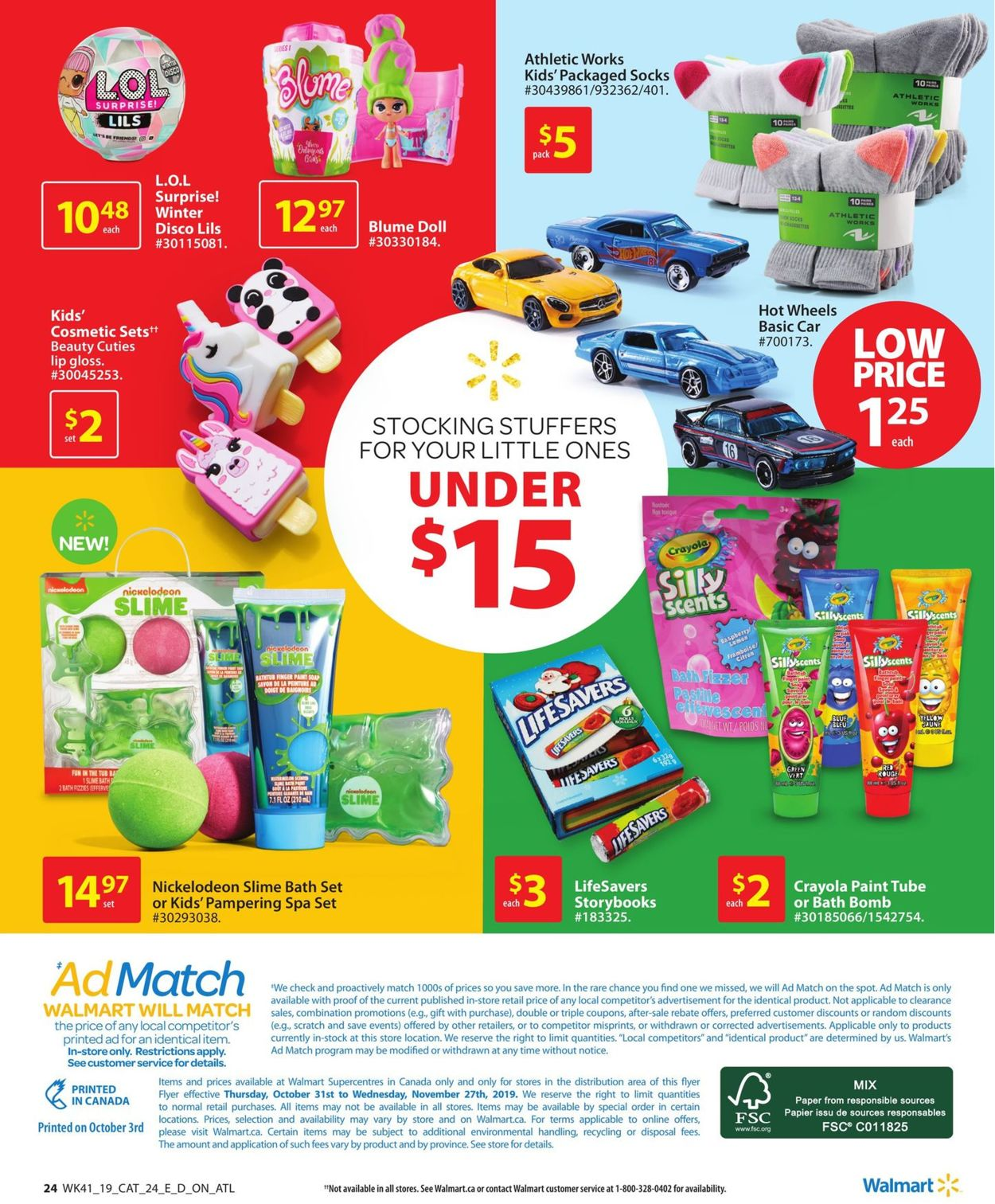 Walmart Flyer - 10/31-11/27/2019 (Page 24)