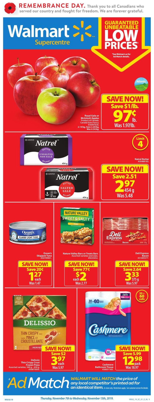 Walmart Flyer - 11/07-11/13/2019