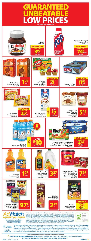 Walmart Flyer - 11/07-11/13/2019 (Page 4)