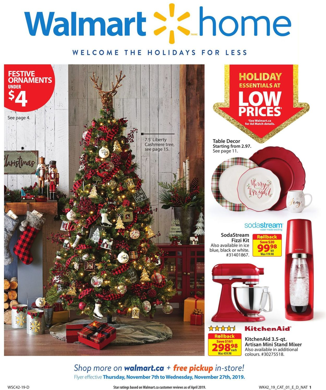 Walmart Flyer - 11/07-11/27/2019