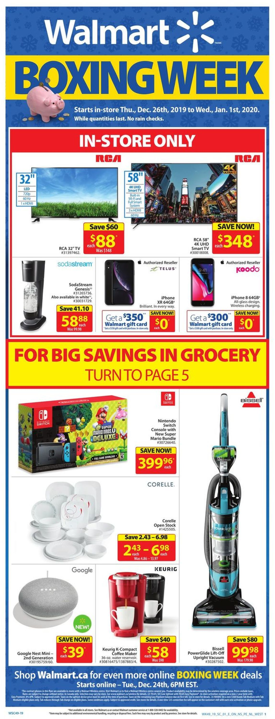 Walmart - HOLIDAY 2019 FLYER