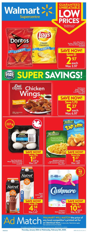 Walmart Flyer - 01/30-02/05/2020