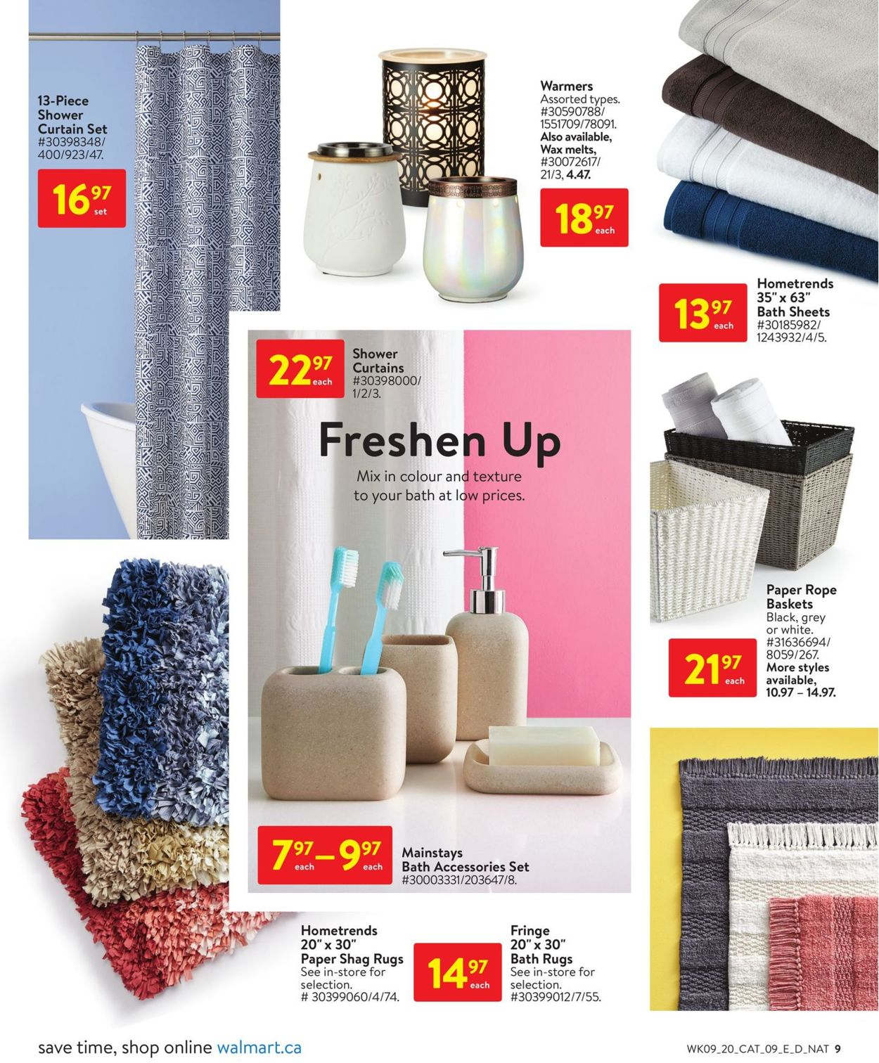 Walmart Flyer - 03/26-04/22/2020 (Page 9)