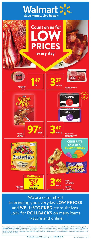 Walmart Flyer - 04/08-04/15/2020