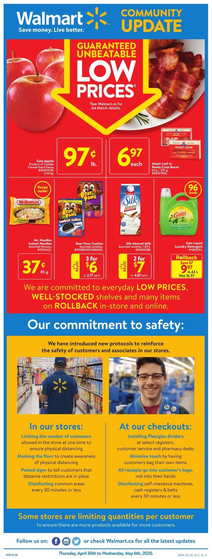 Walmart Flyer - 04/30-05/06/2020