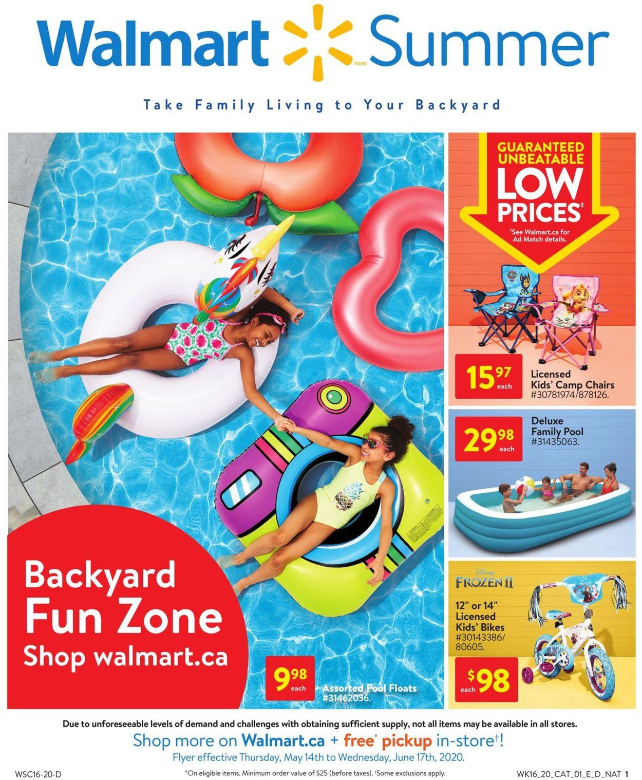 Walmart Flyer - 05/14-06/17/2020