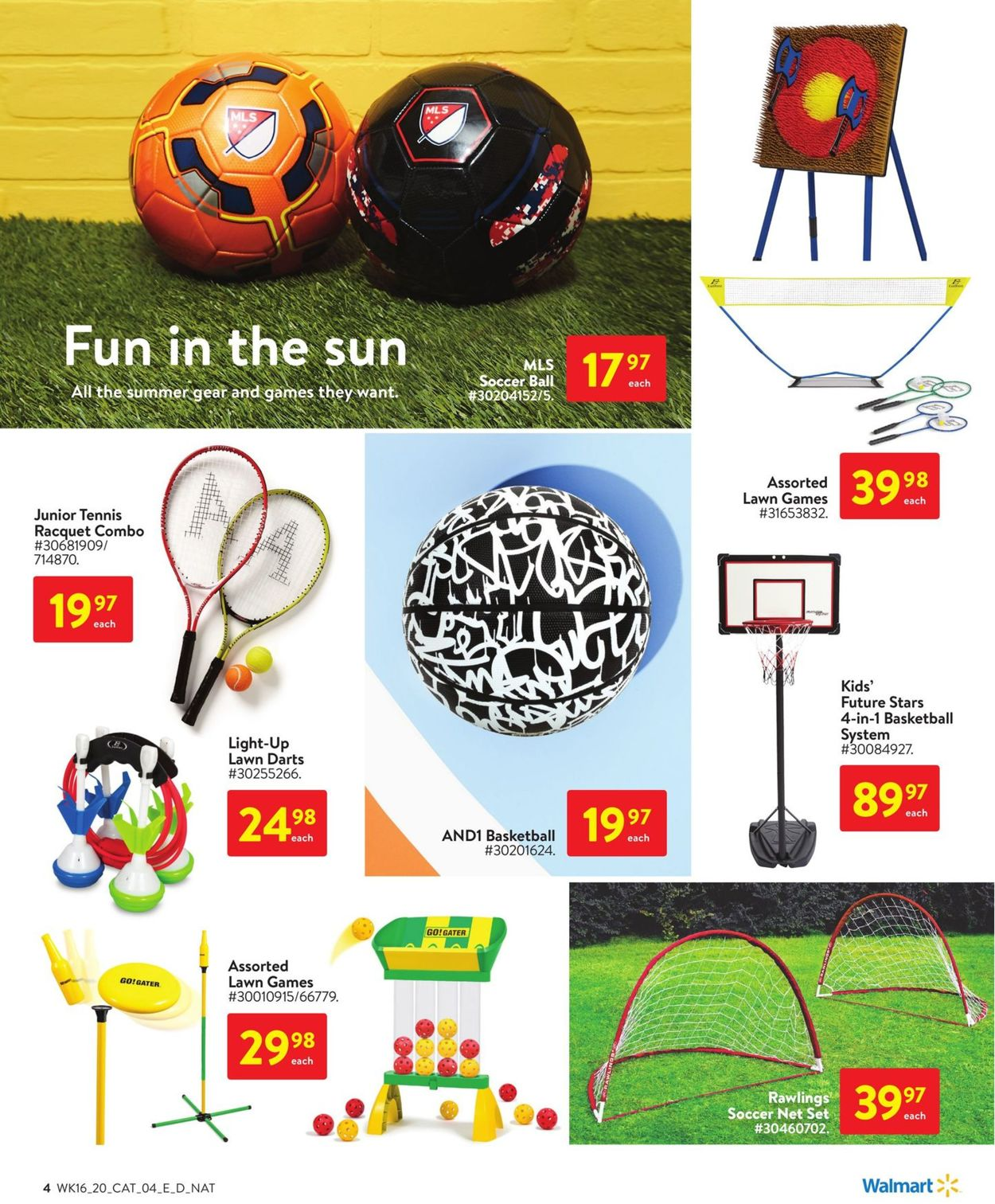 Walmart Flyer - 05/14-06/17/2020 (Page 4)