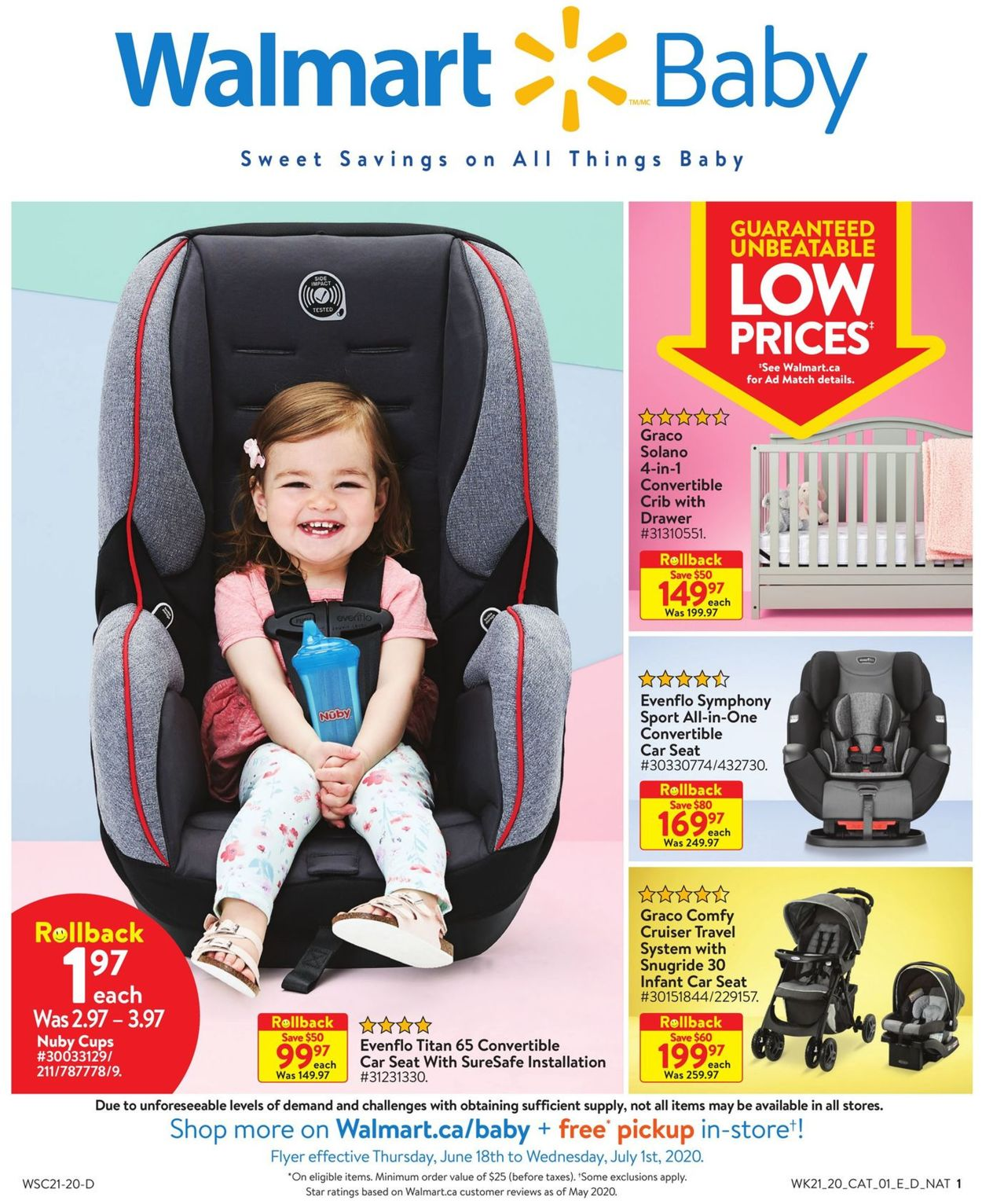 Walmart Flyer - 06/18-07/01/2020