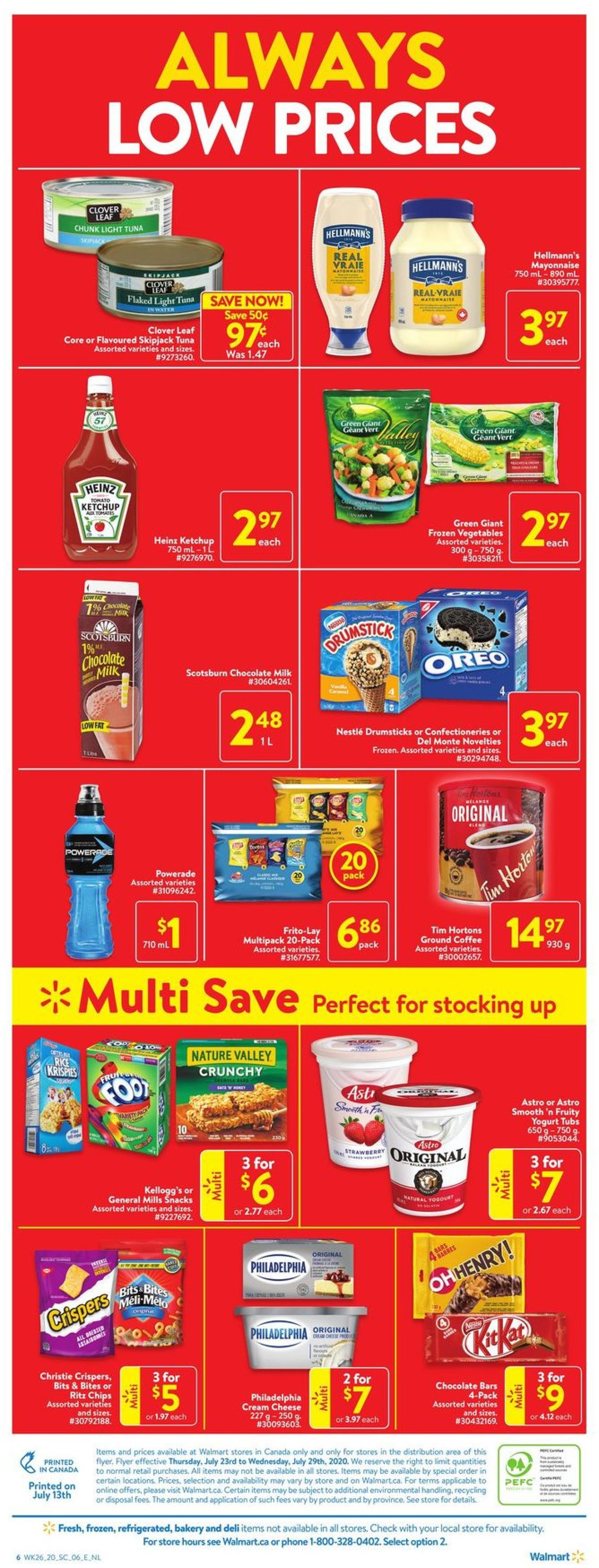 Walmart Flyer - 07/23-07/29/2020 (Page 4)