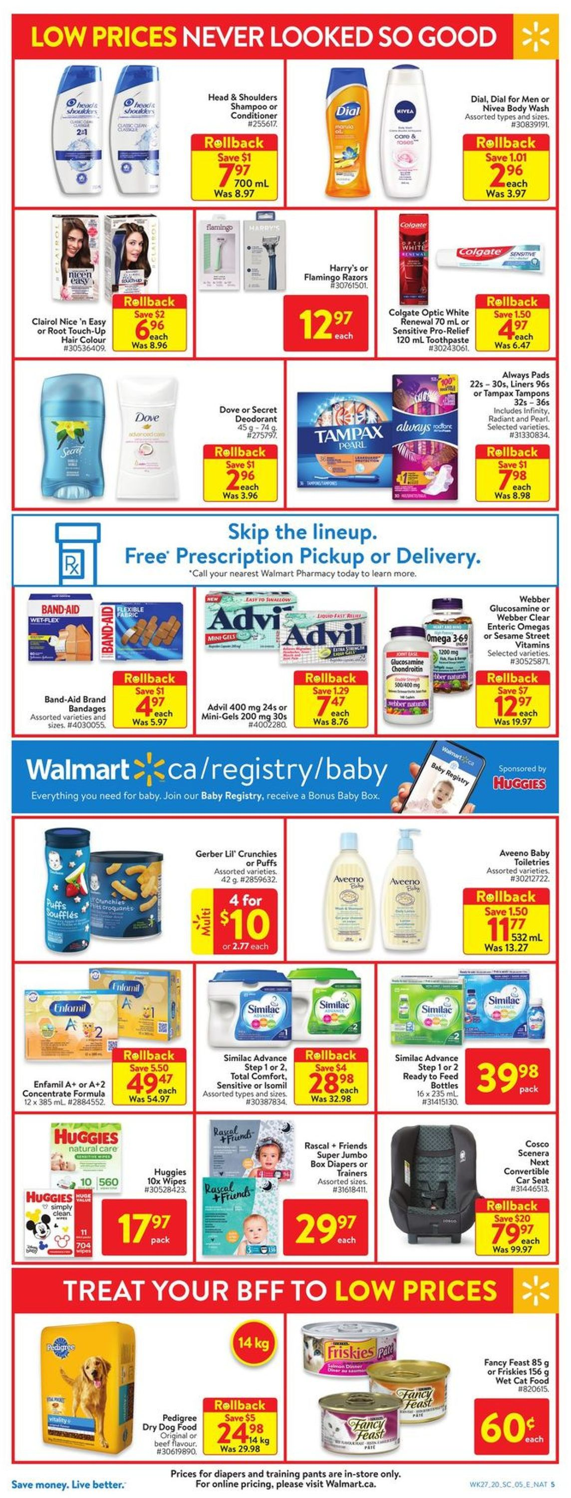 Walmart Flyer - 07/30-08/05/2020 (Page 9)