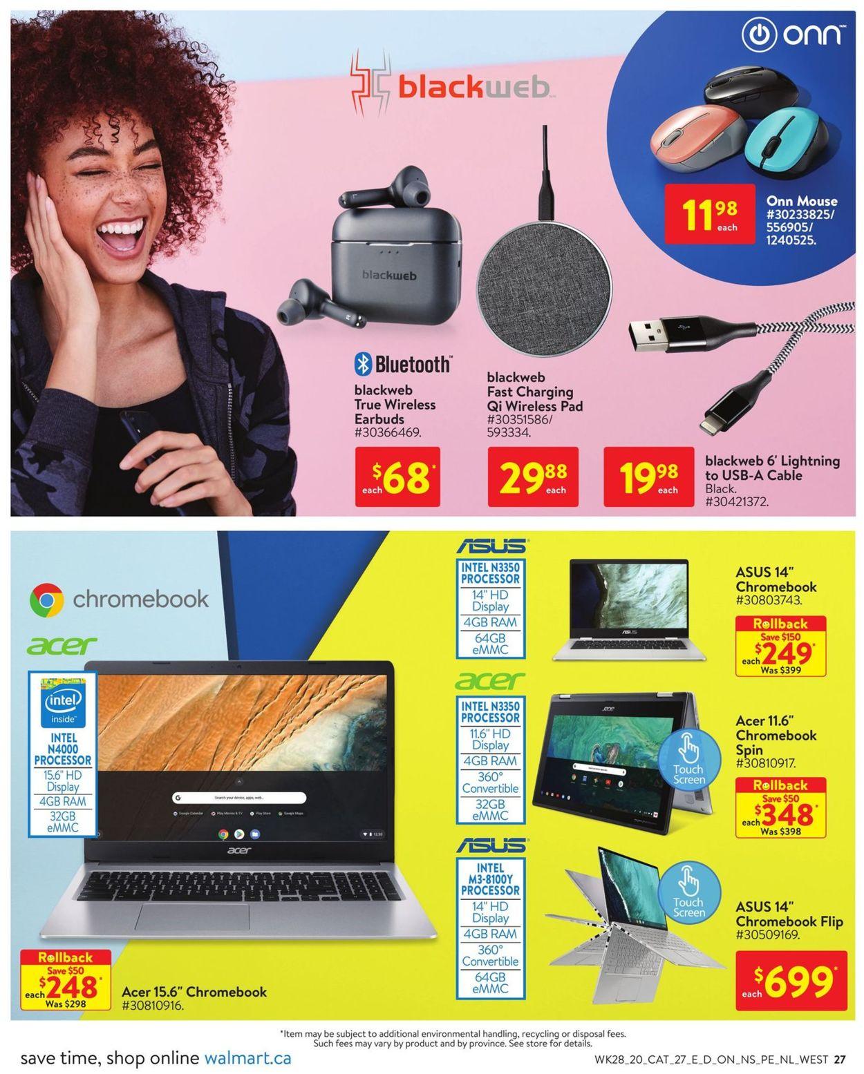 Walmart Flyer - 08/06-09/02/2020 (Page 28)
