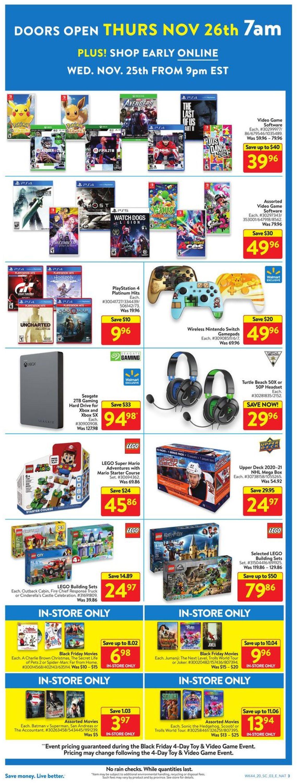 Walmart - Black Friday 2020 Flyer - 11/27-11/29/2020 (Page 3)