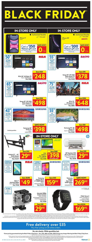 Walmart - Black Friday 2020 Flyer - 11/27-11/29/2020 (Page 4)