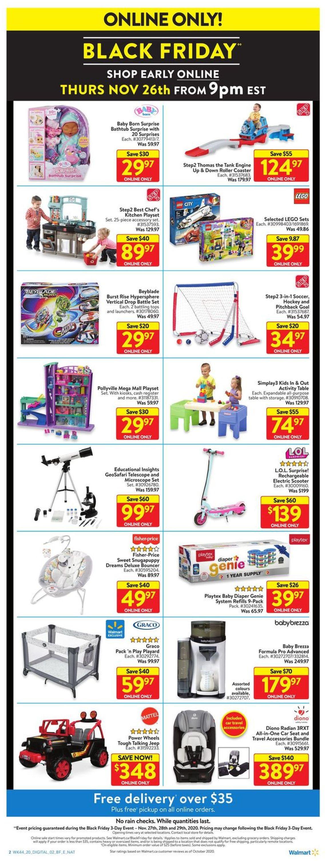 Walmart - Black Friday 2020 Flyer - 11/27-11/29/2020 (Page 8)