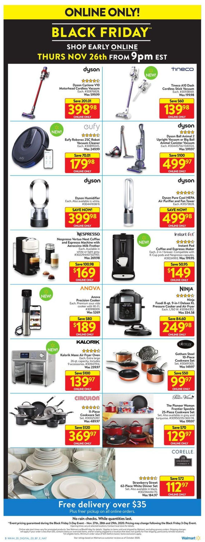 Walmart - Black Friday 2020 Flyer - 11/27-11/29/2020 (Page 9)