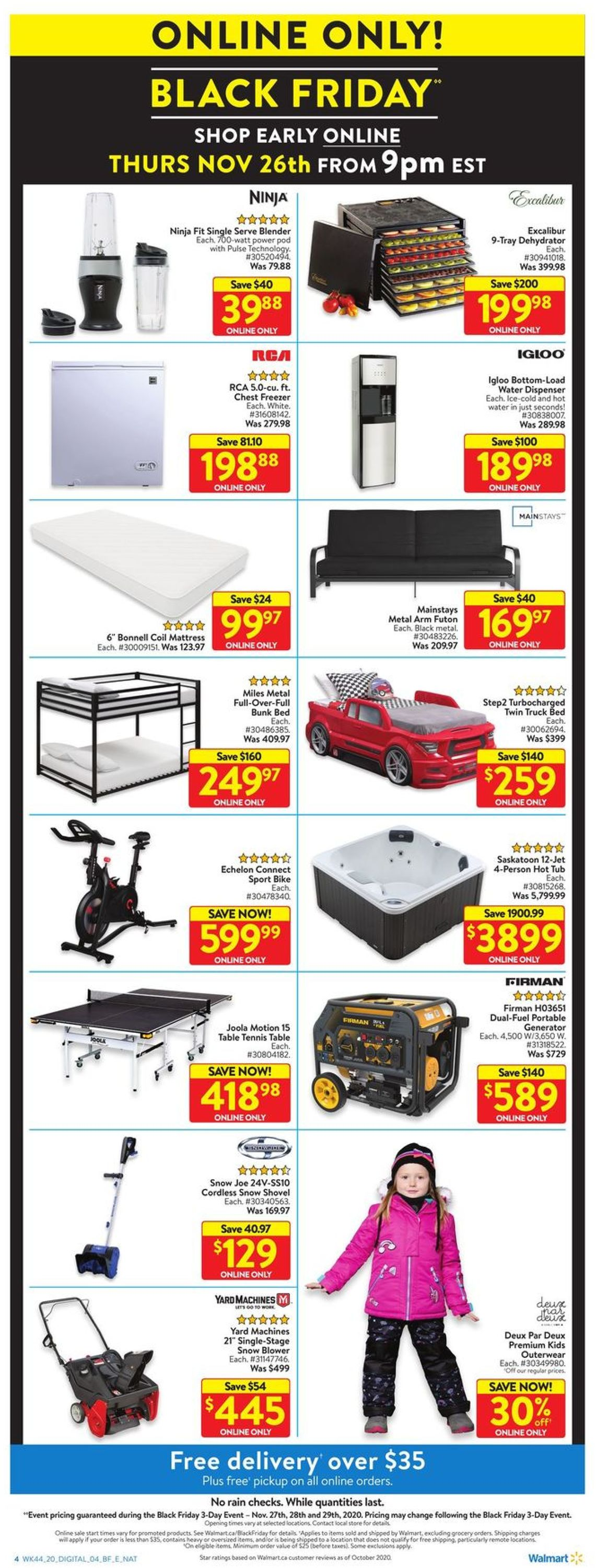 Walmart - Black Friday 2020 Flyer - 11/27-11/29/2020 (Page 10)