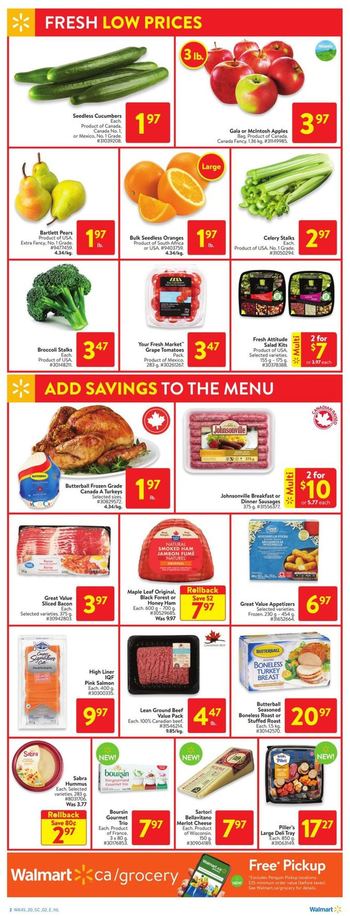 Walmart - Holiday 2020 Flyer - 12/03-12/09/2020 (Page 3)