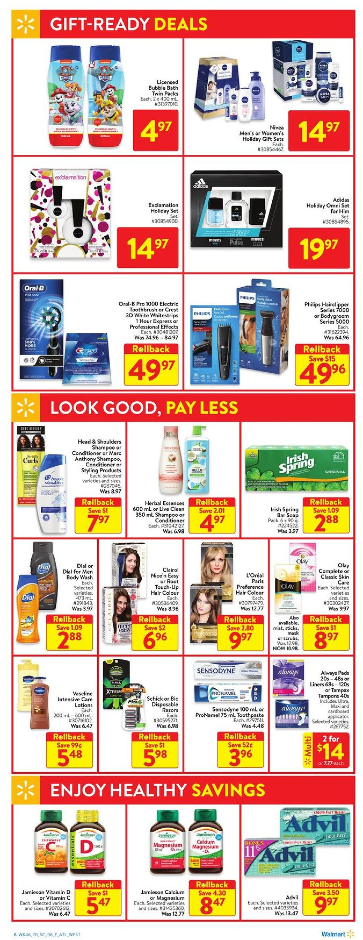 Walmart - Holiday 2020 Flyer - 12/10-12/16/2020 (Page 8)