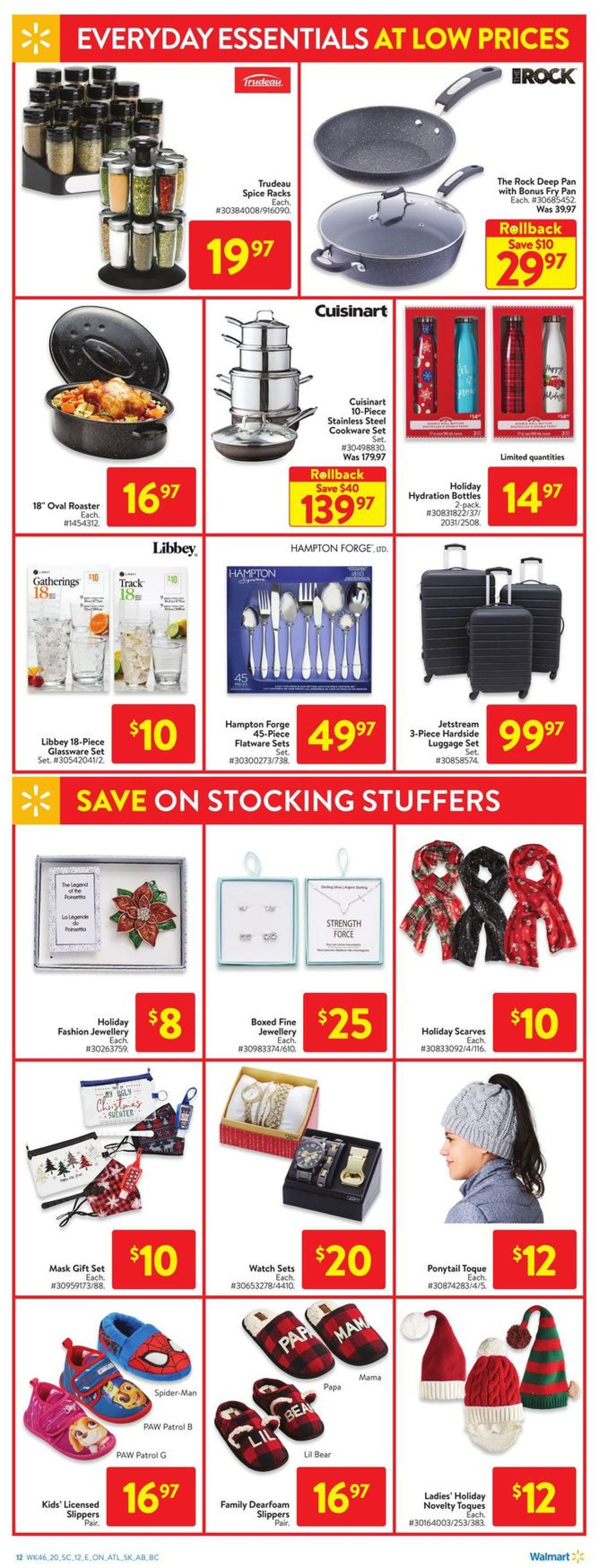 Walmart - Holiday 2020 Flyer - 12/10-12/16/2020 (Page 20)