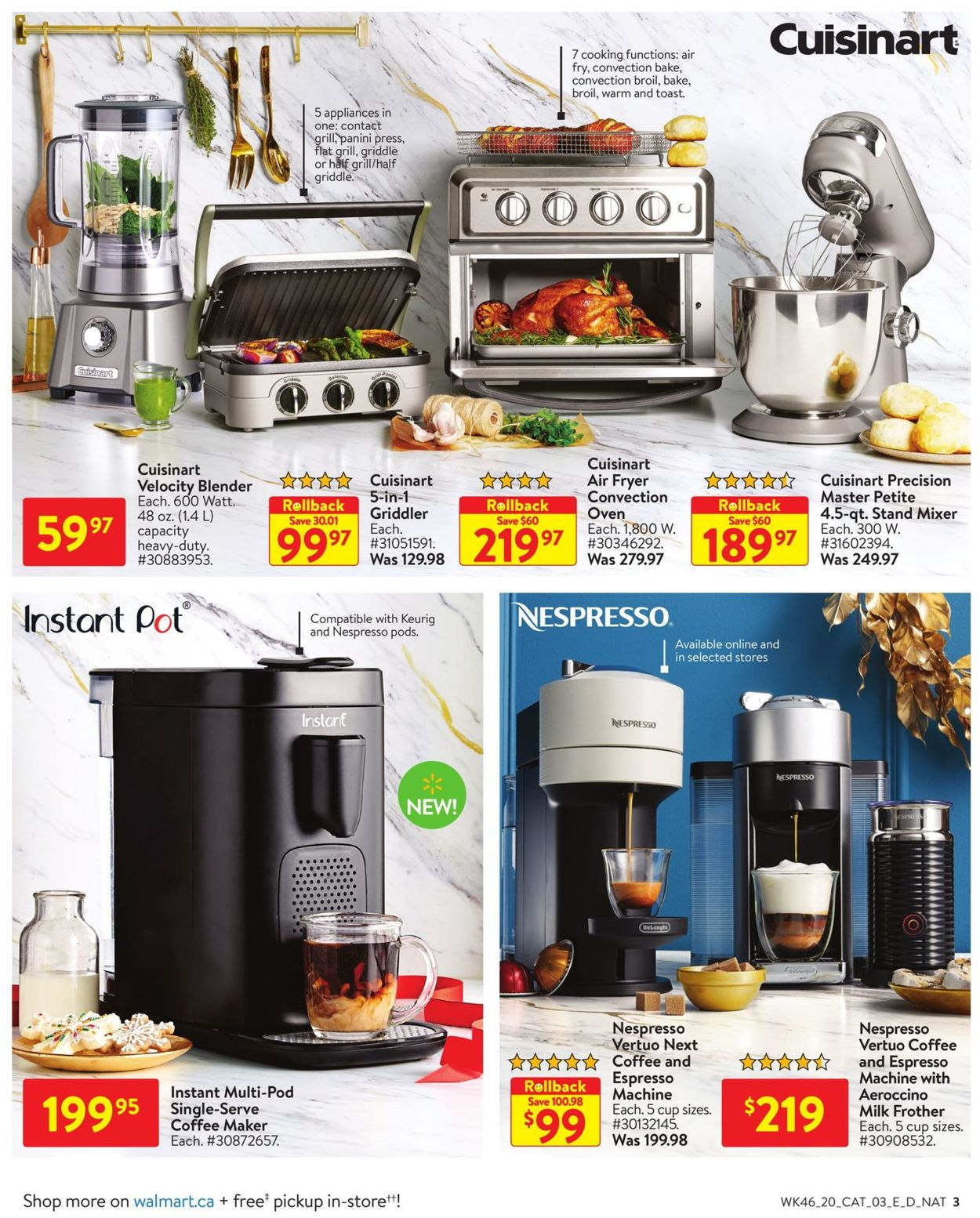 Walmart - Holiday 2020 Flyer - 12/10-12/30/2020 (Page 3)