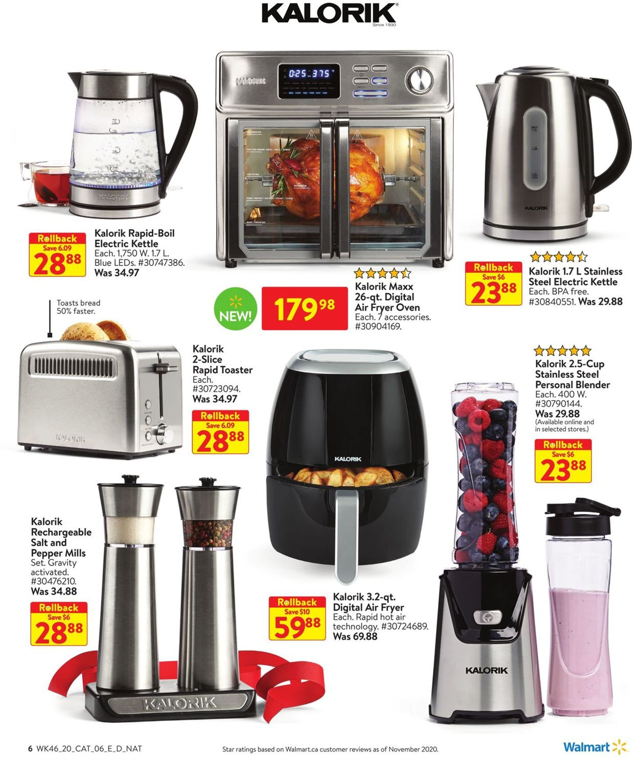 Walmart - Holiday 2020 Flyer - 12/10-12/30/2020 (Page 6)
