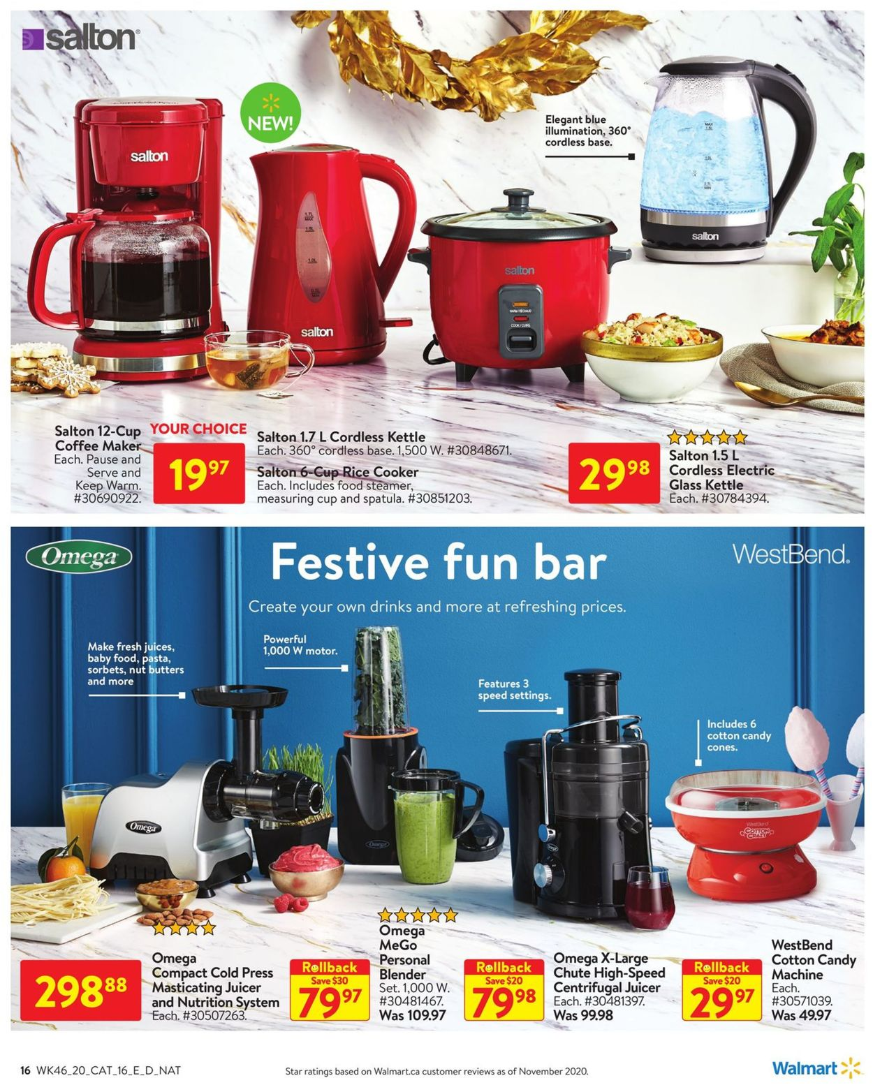 Walmart - Holiday 2020 Flyer - 12/10-12/30/2020 (Page 16)