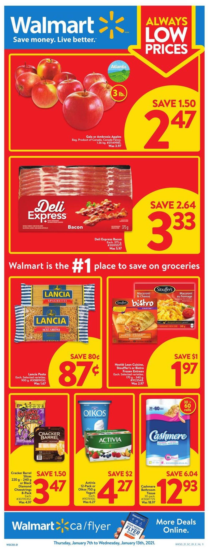 Walmart Flyer - 01/07-01/13/2021