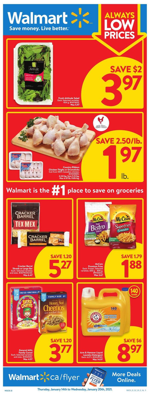 Walmart Flyer - 01/14-01/20/2021