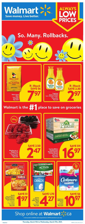 Walmart Flyer - 03/11-03/17/2021