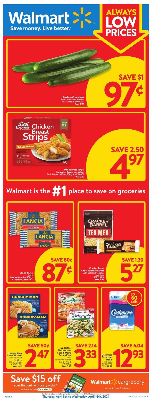 Walmart Flyer - 04/08-04/14/2021