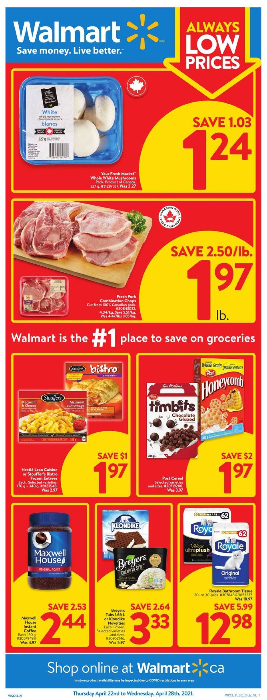 Walmart Flyer - 04/22-04/28/2021