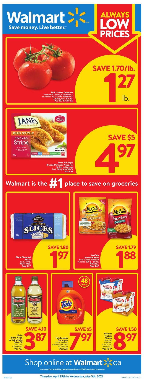 Walmart Flyer - 04/29-05/05/2021
