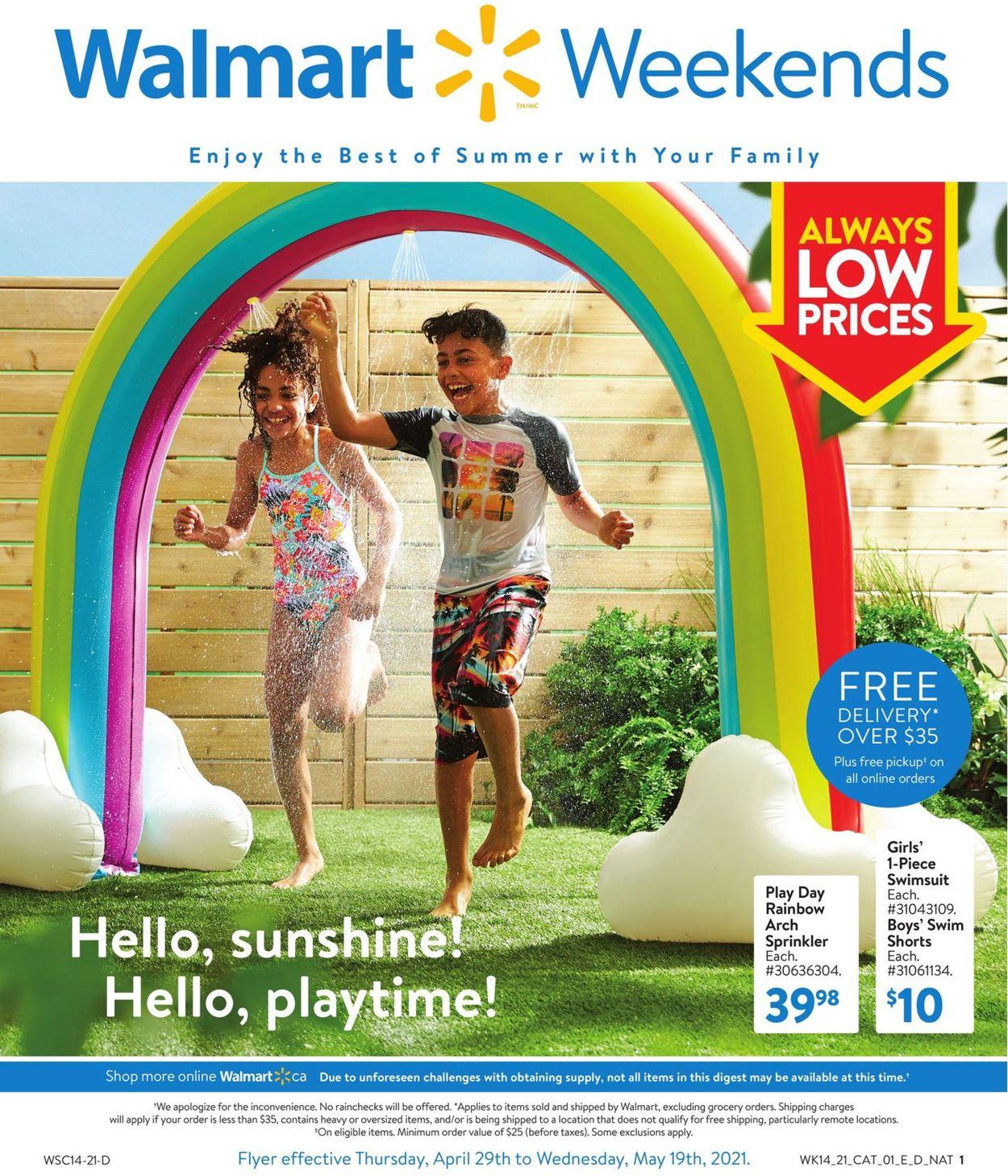Walmart Flyer - 04/29-05/19/2021