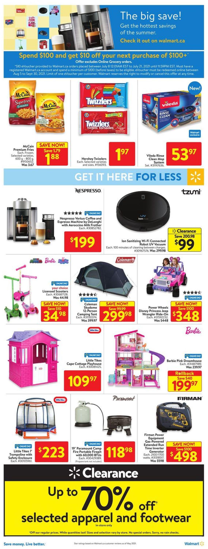 Walmart Flyer - 07/08-07/14/2021 (Page 10)