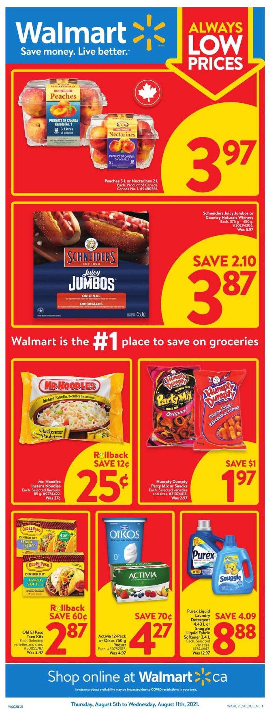 Walmart Flyer - 08/05-08/11/2021