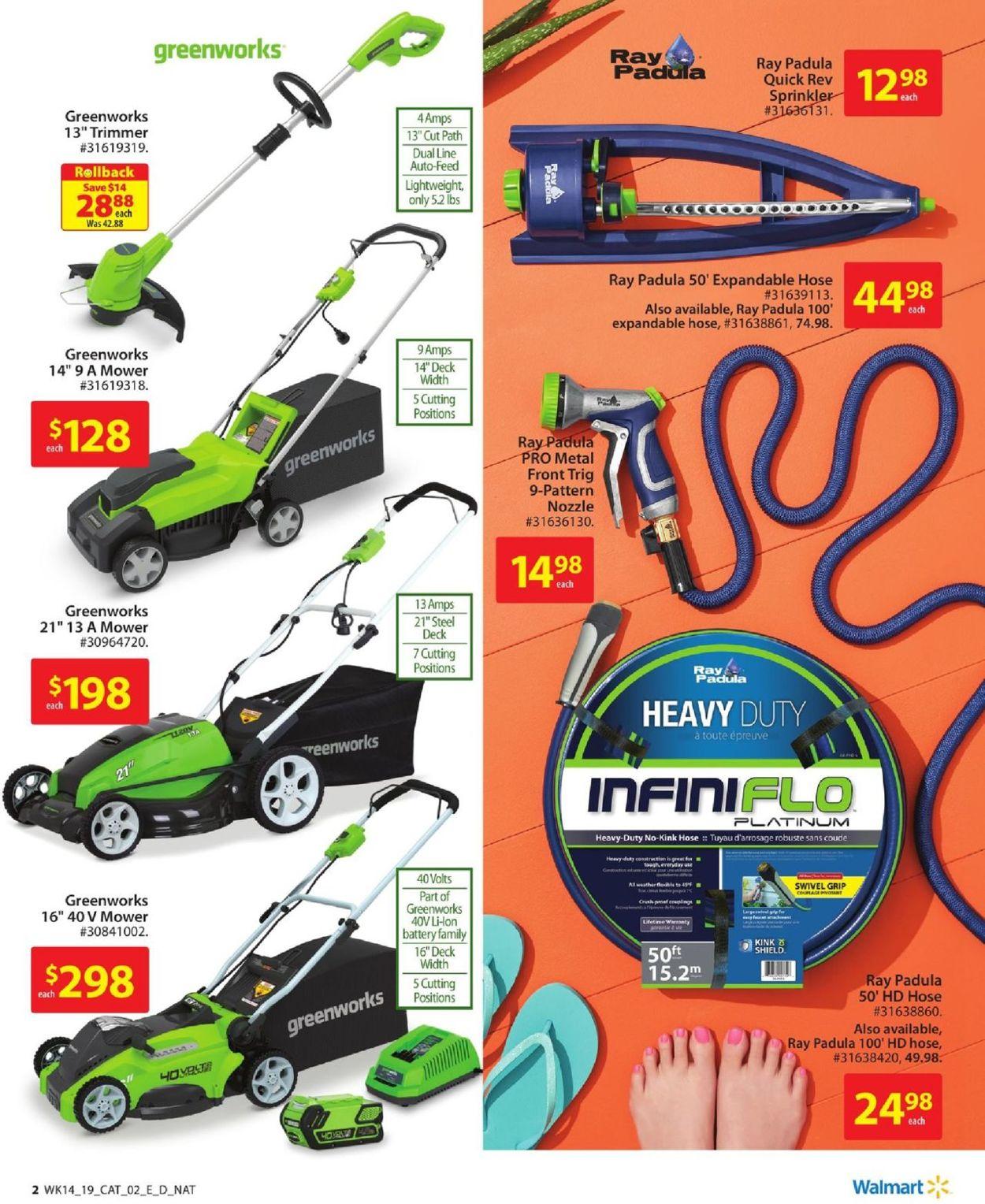 Walmart Flyer - 04/25-05/22/2019 (Page 2)