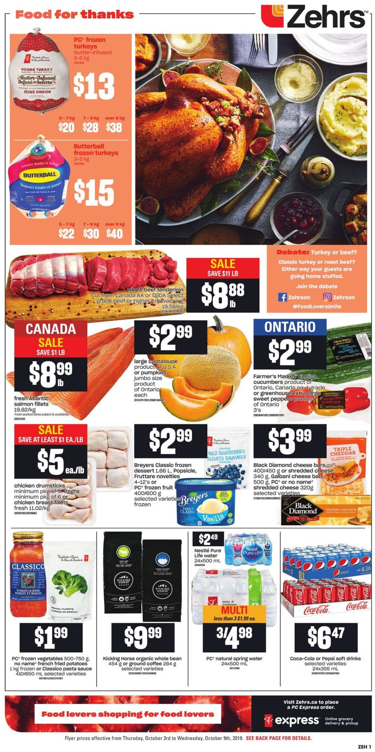 Zehrs Flyer - 10/03-10/09/2019 (Page 3)