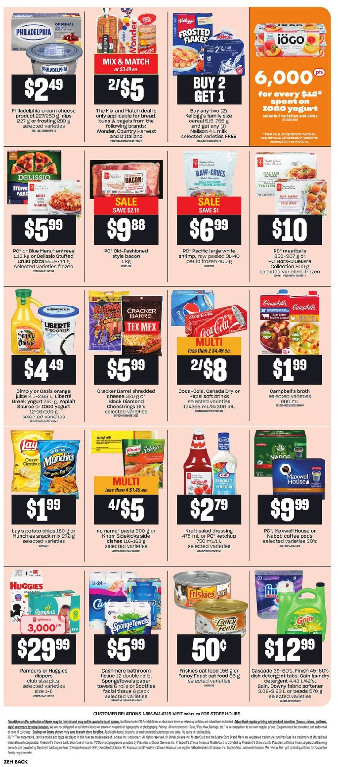Zehrs Flyer - 10/03-10/09/2019 (Page 20)