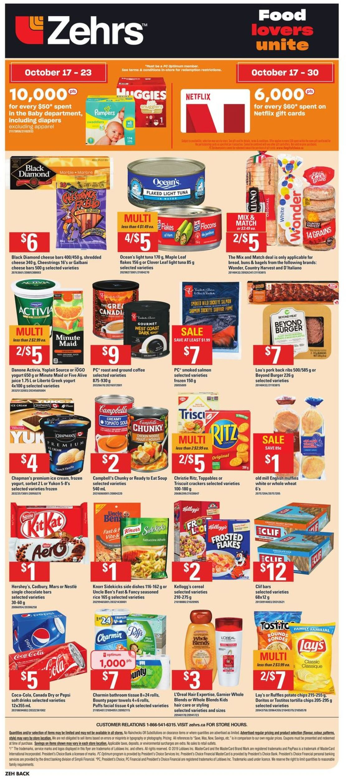 Zehrs Flyer - 10/17-10/23/2019 (Page 16)