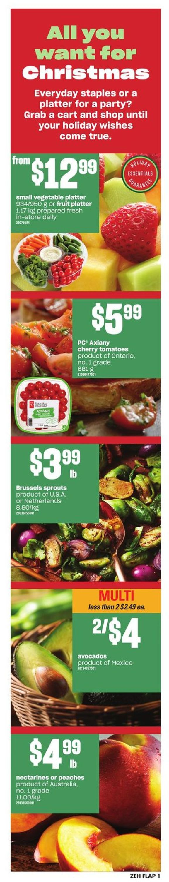 Zehrs - Christmas 2019 Flyer Flyer - 12/12-12/18/2019