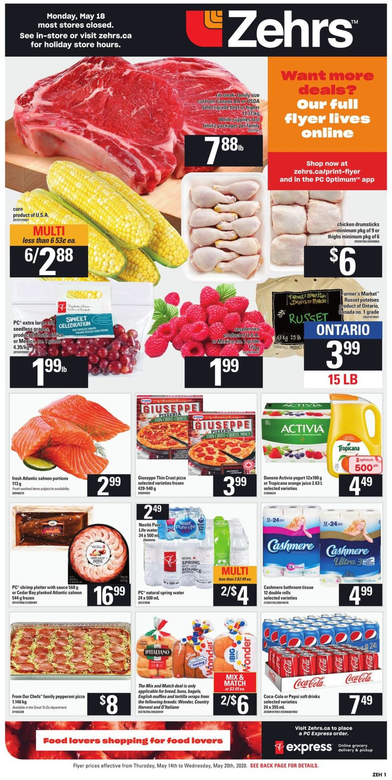 Zehrs Flyer - 05/14-05/20/2020 (Page 3)
