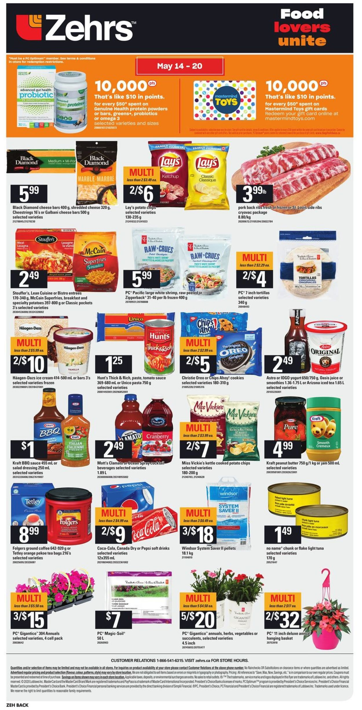 Zehrs Flyer - 05/14-05/20/2020 (Page 4)