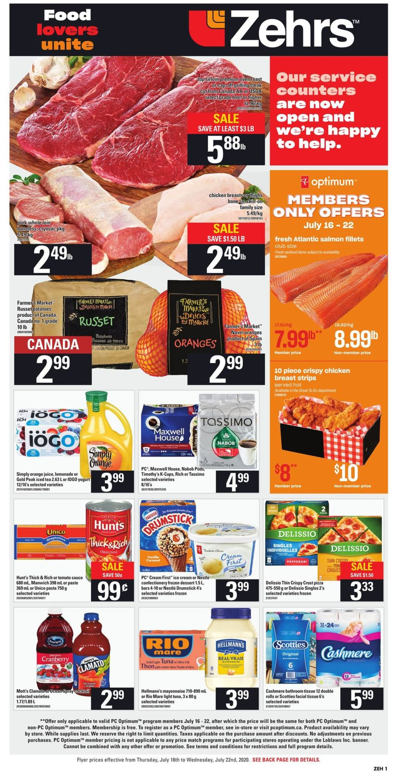 Zehrs Flyer - 07/16-07/22/2020 (Page 3)
