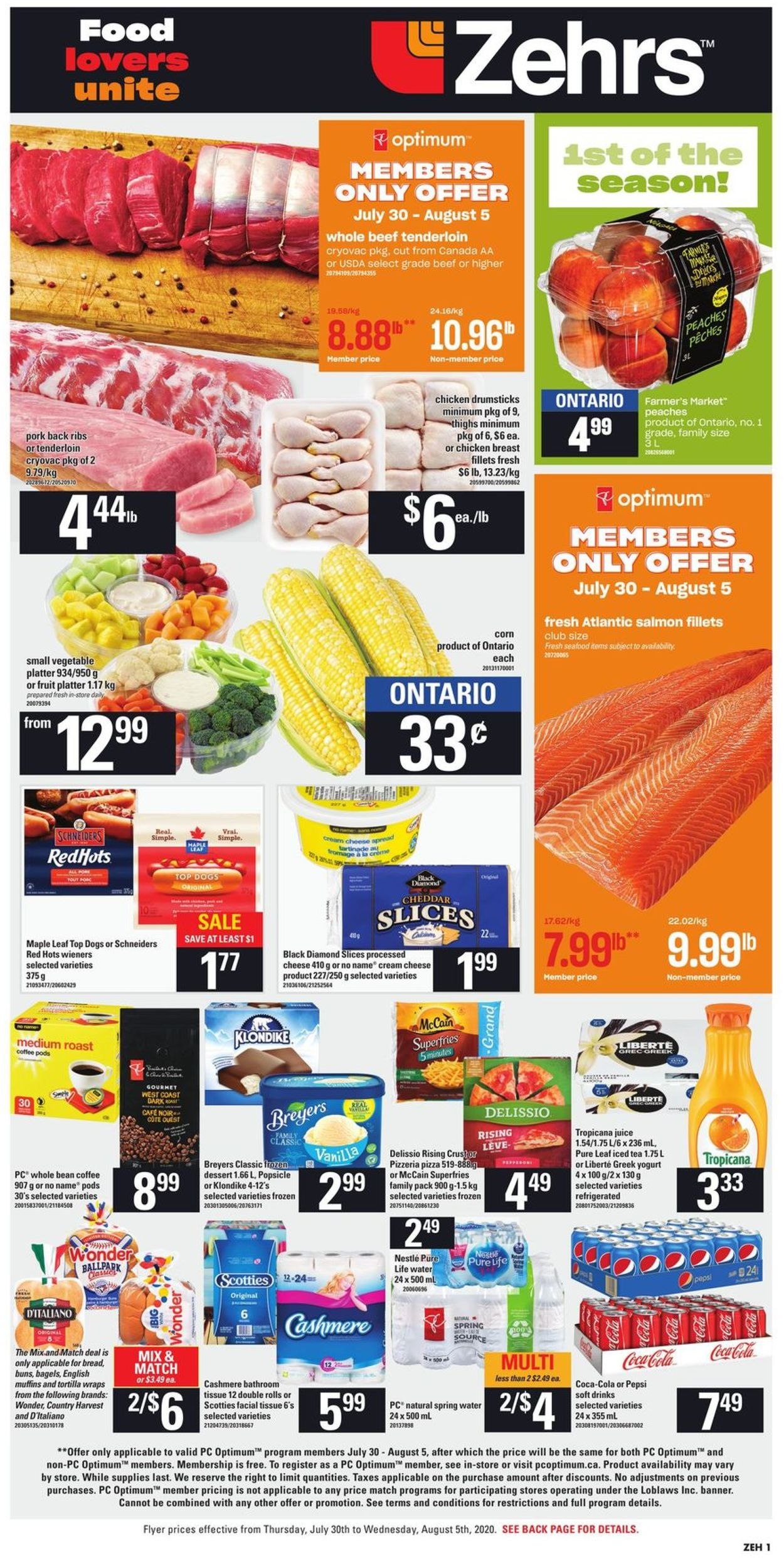 Zehrs Flyer - 07/30-08/05/2020 (Page 3)