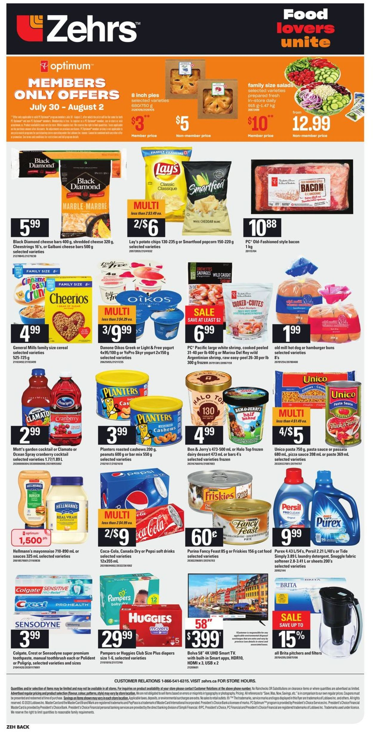 Zehrs Flyer - 07/30-08/05/2020 (Page 4)