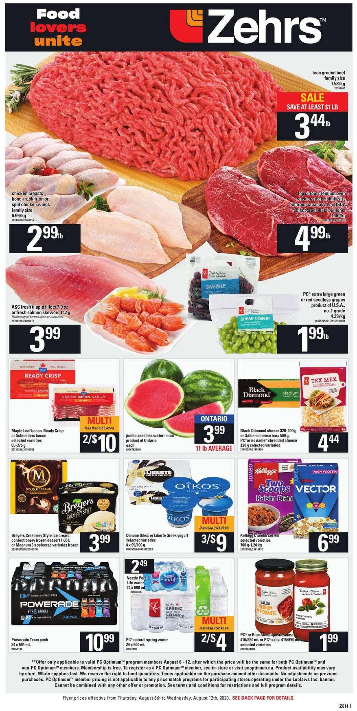 Zehrs Flyer - 08/06-08/12/2020 (Page 3)