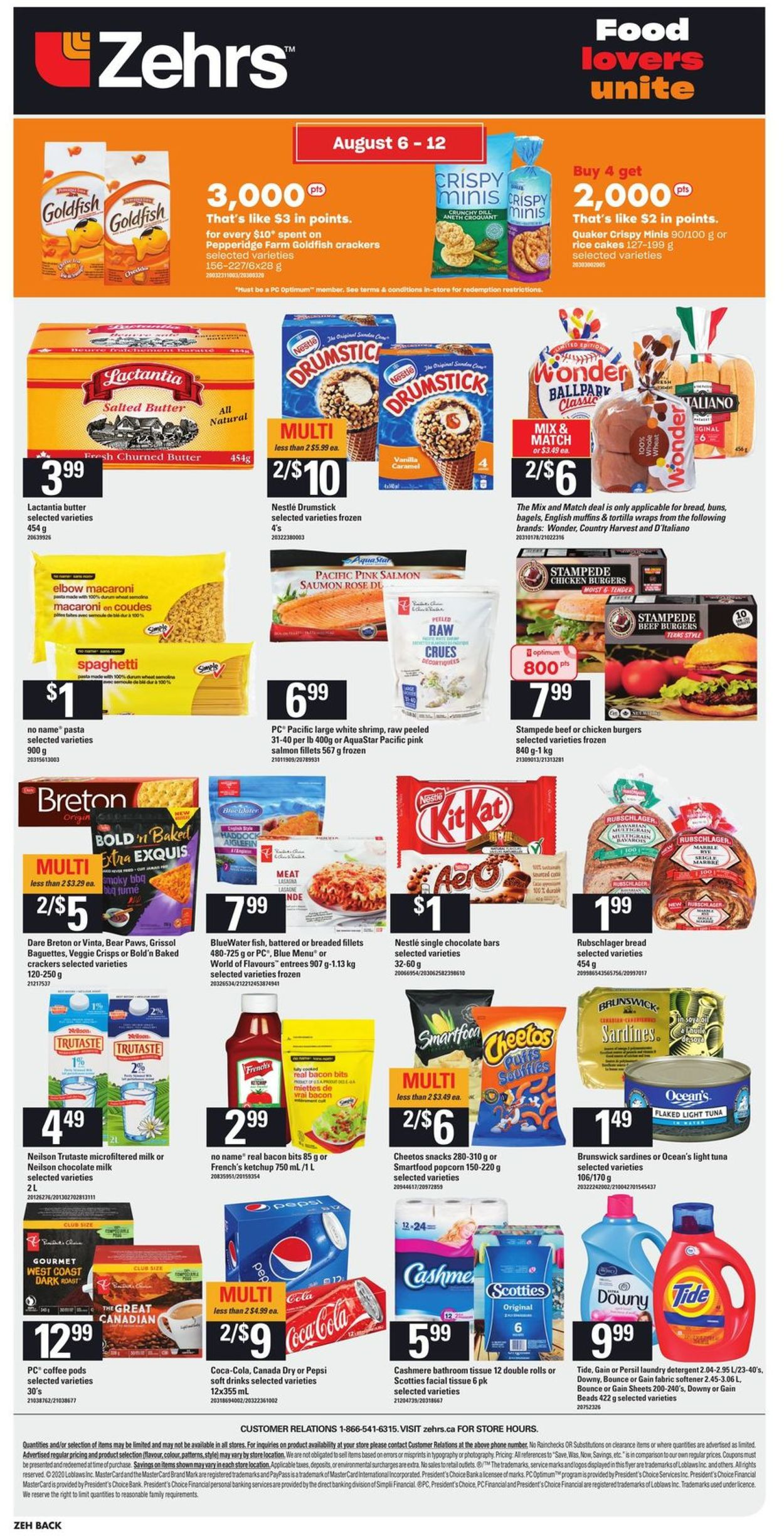 Zehrs Flyer - 08/06-08/12/2020 (Page 4)