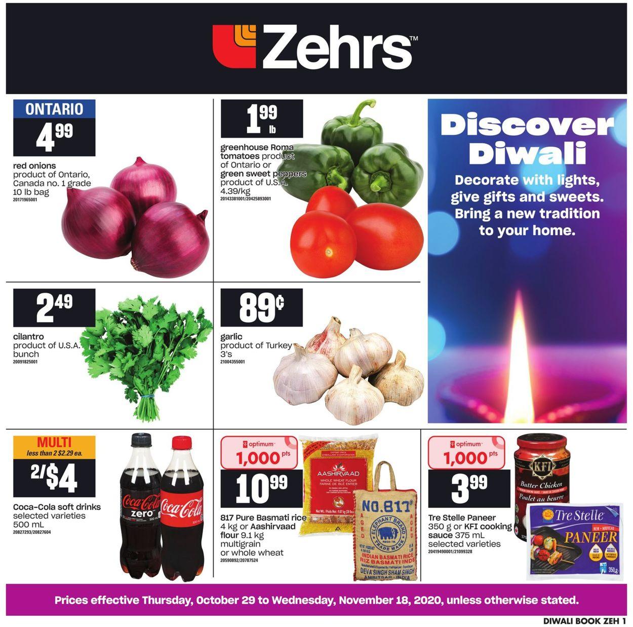 Zehrs Flyer - 10/29-11/18/2020