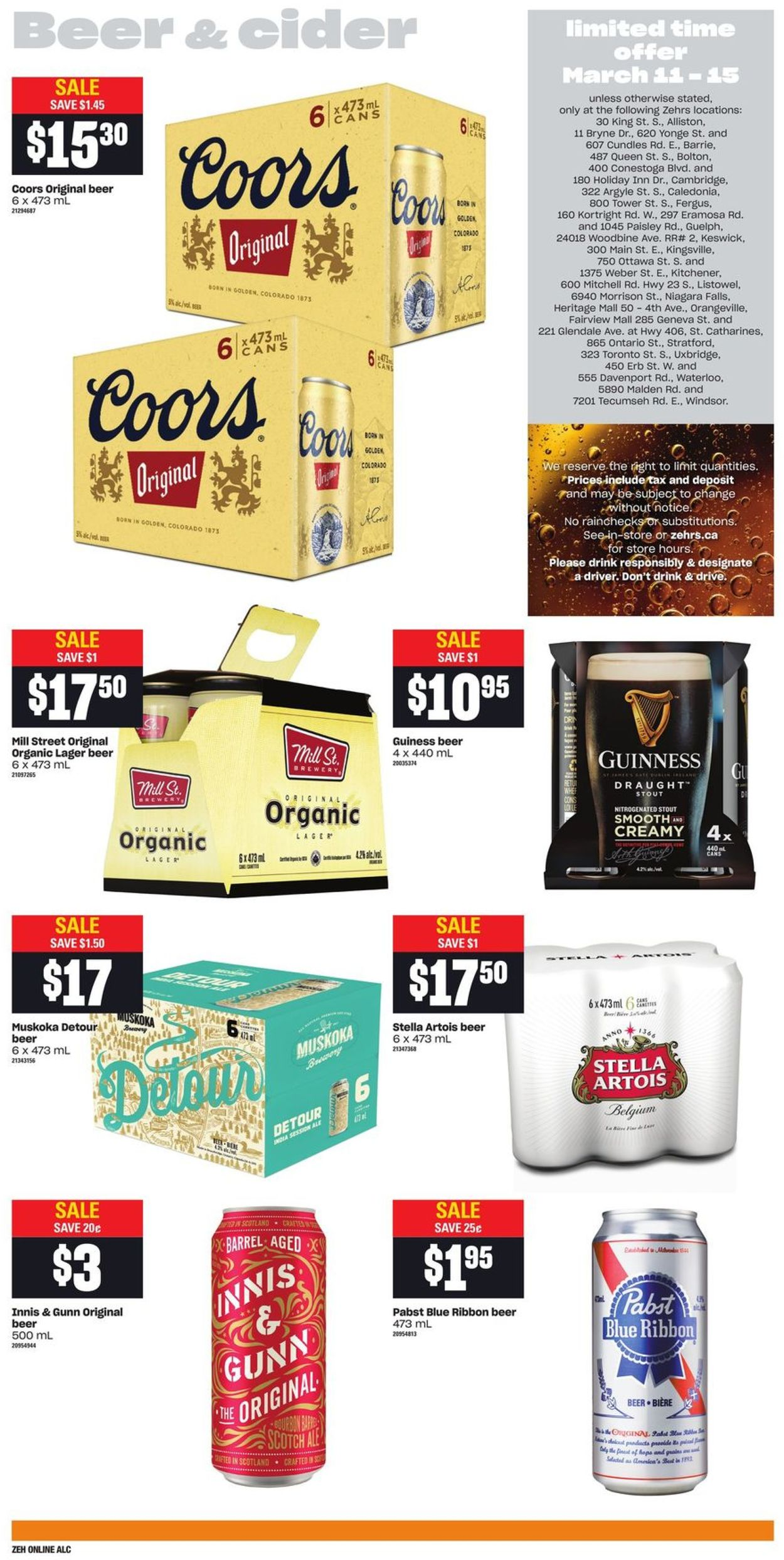 Zehrs Flyer - 03/11-03/17/2021 (Page 8)